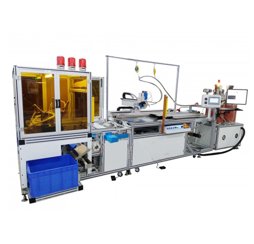 Automatic film winding machine